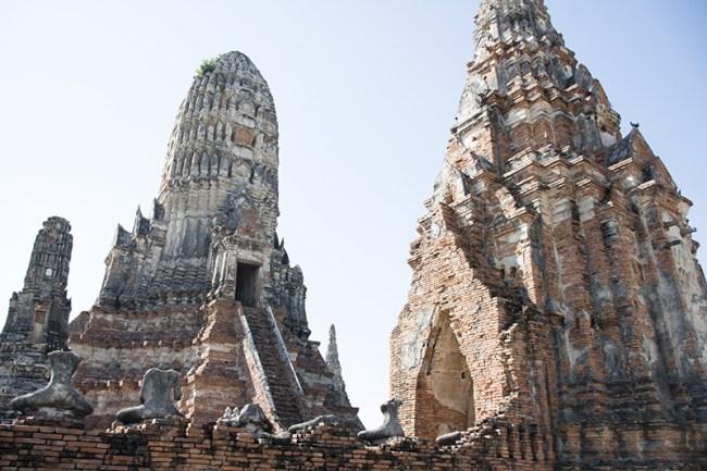Templo budista en Ayutthaya