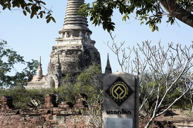 Ayutthaya, patrimonio UNESCO