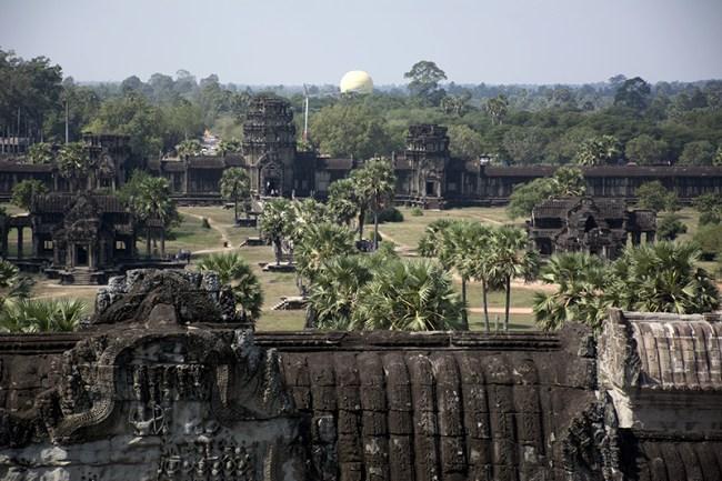 Patio exterior de Angkor Wat