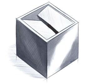 Don Diseño - Grandes del Diseño 01 - Bruno Munari - Cenicero Cubo - 1957