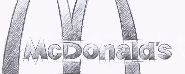 Don Diseño - Ikea frente a mcdonalds - Parecido razonable en el diseño de servicios - 01 - sketch rápido logo de McDonalds-1900x760