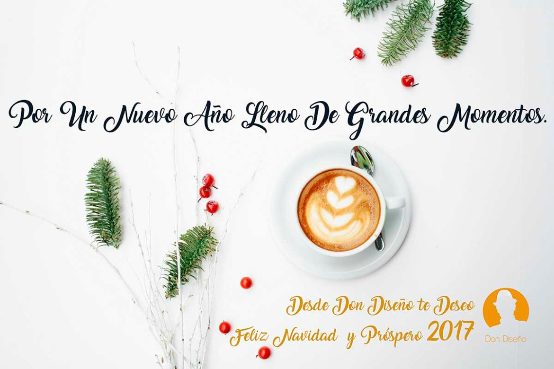 DonDiseño - Diseña Tus Mejores Deseos Y Dales Forma - Feliz 2017 - Felicitacion navidad 2017 - 01