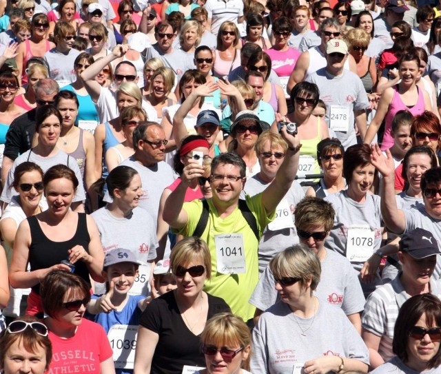All types of athletes take part in the annual North West 10K.