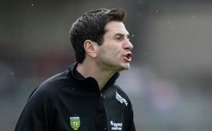 New Donegal manager Rory Gallagher suffered defeat in his first competitive match against Derry in the Dr McKenna Cup.