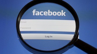 The man caused criminal damage on his ex-partner's Facebook page.