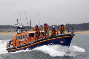 The RNLI responded to the call off Inishowen.