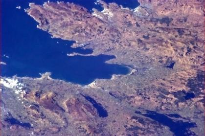 Donegal from space - Photo taken by Col. Chris Hadfield