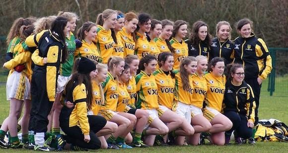 donegal ladies U-16 team 2014