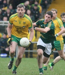 Christy Toye has been named in the Donegal team which will face Queen's University Belfast on Sunday afternoon.