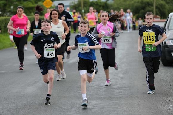 Runners pictured taking part in the Sessiaghoneill NS 5K Fun Run & Walk. Pic.: Gary Foy, newsandsportfiles