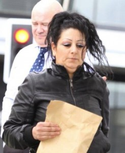Florea Mihaela, aged 34, who was charged with prostitution. She had almost 6k in cash