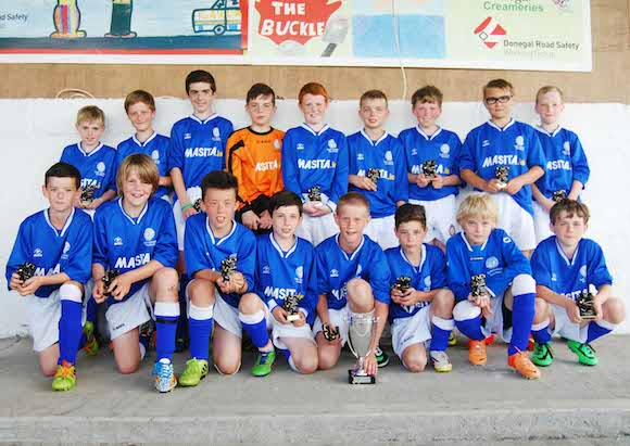 South Donegal Representative Squad - Finn Harps Under 12 Cup 2014 - Winners
