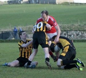 Colm McFadden netted two goals against Bundoran this evening in their opening fixture of the Donegal SFC.