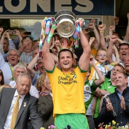 Michael Murphy will lead Donegal out at Croke Park on Saturday the 9th of August.
