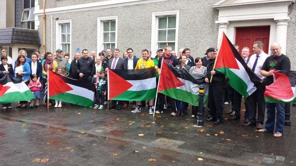lifford gaza rally