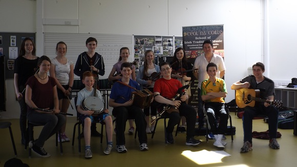 Some of the students at this week's summer school.