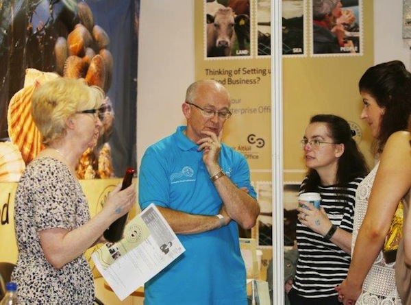 Let's talk about food! Some of those at the Homegrown Food Festival in the Aura Centre in Letterkenny yesterday. ALL PICS BY JOE BOLAND OF NORTHWEST NEWS PIX.