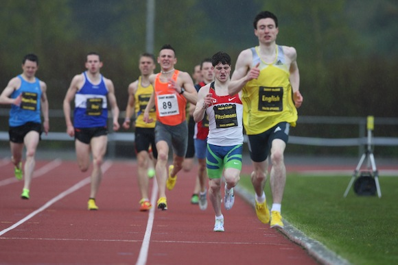 Mark English will complete in Sunday's international race meeting in Letterkenny on Sunday.