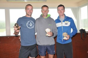 The winners of the men's race. Pic by Moses Alcorn.