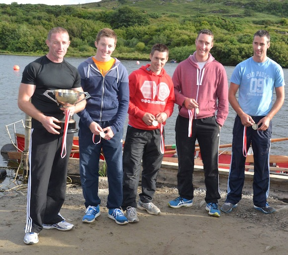 The Burtonport Senior Men again took the honours in that category in impressive style.