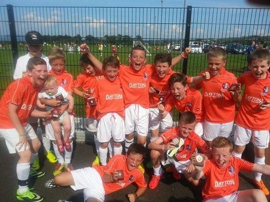 The successful Donegal Town U11 team.