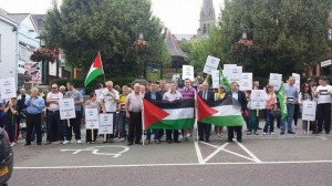 saturday's protest in Letterkenny