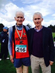 There will be a reception held for Rosses AC athlete Pat Ward tonight at Central Park Keadue.