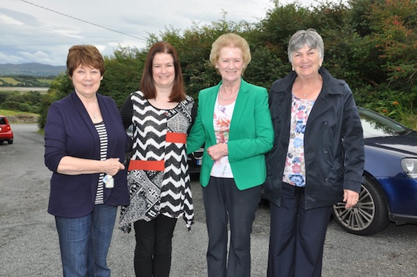 These ladies are looking well at the tea party in Creeslough.