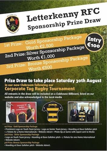 Rugby Club draw