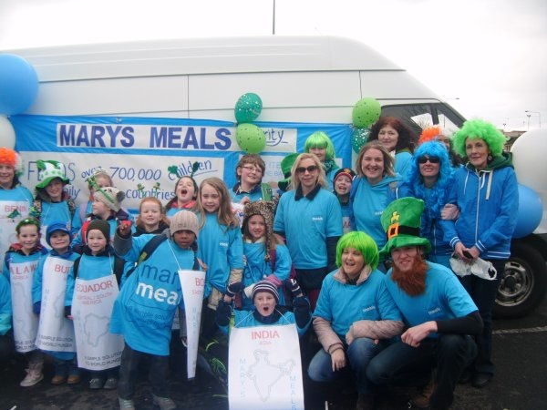 The Mary's Meals team from Letterkenny