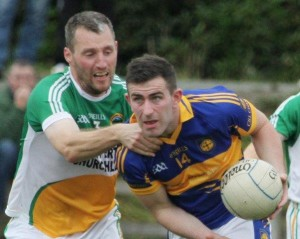 Paddy McBrearty will be hoping he can fire Kilcar into the last eight when they host Bundoran on Saturday evening.