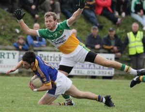 Leon Kelly scored a goal as Glenswilly eased past the challenge of neighbours Termon earlier this afternoon.
