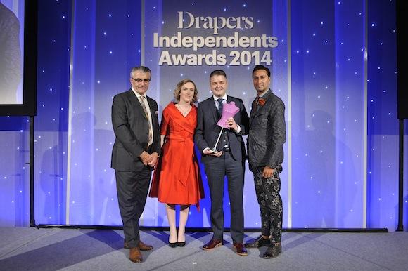 McElhinneys receive their award in London!