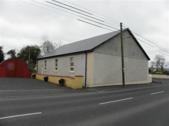 The Orange Hall in Newtowncunningham.