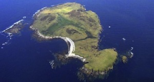Inishdooey Island off the coast of Donegal.