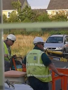 Water meter installers in Donegal this week