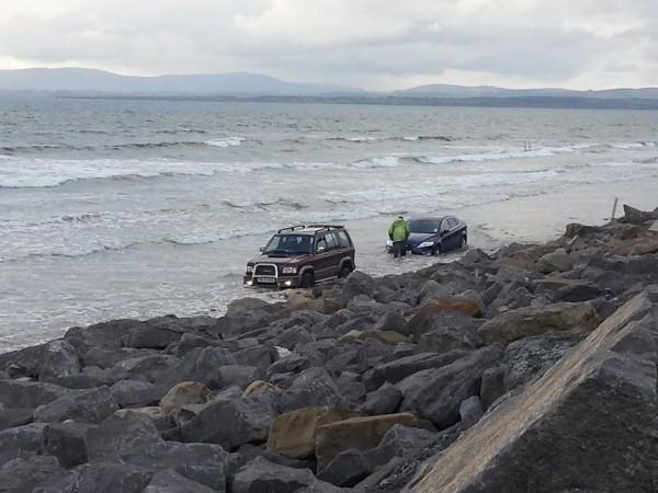Car-beach-donegal