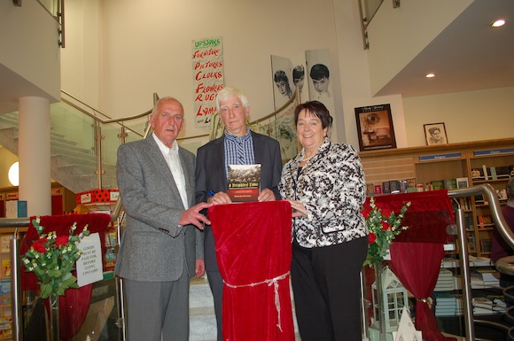 Councillor Tom Conaghan, Malachy Sweeney & Mayor Patricia Callaghan