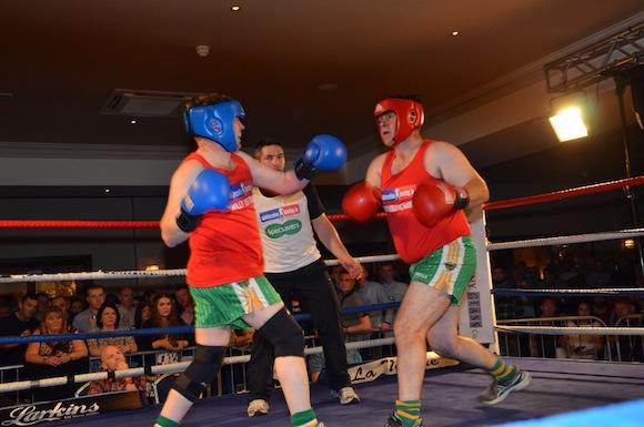 Paddy Mc Ginty Fights Martin Glackin