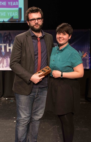 DYS Young Person of the Year Winner Kevin Carter