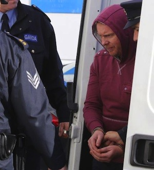 Julian Cuddihy arrives at a previous court sitting. Pic by Northwest News Pix.