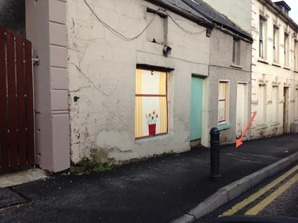The house in Ballybofey where Irish Water have fitted a water meter