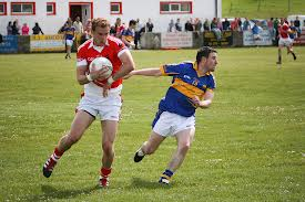 Peter Witherow had an excellent game as St Michaels defeated Kilcar in the Donegal SFC.