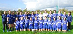 The Four Masters GAA Senior Ladies team that was narrowly defeated in their Ulster Internediate Final at Brewster Park.