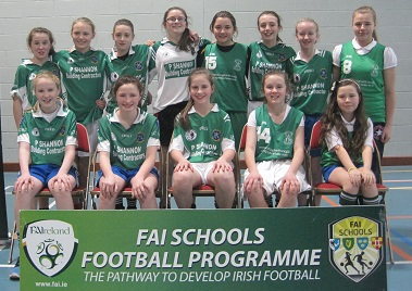 Girls Runners Up - St. Louis Monaghan