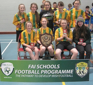 Girls Winners - Moville CC, Donegal