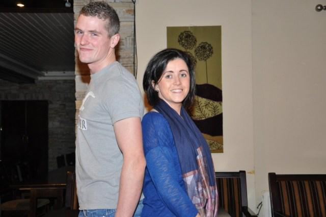Martin Breslin & Jackie Lagan.