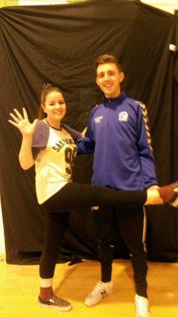 Students Keely Higgins and Oliver Quinn among the fantastic dancers lined up to take part in the Deele College Strictly Come Dancing on December 6th.