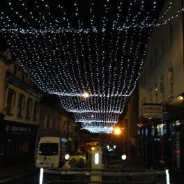 Quay Street Christmas Lights
