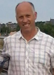 Devoted family man Seamus Hegarty who was tragically killed when a tractor tyre blew out.
